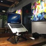 Justierbarer Computer Balck Standplatz für Laptop