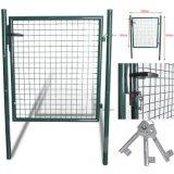 150 строб сада двери зеленого цвета задворк Cm X100 Cm Garman стандартный прочный сверхмощный стальной
