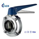 304/316L Sanitary Roestvrij staal Butterfly Valve (CF88001)
