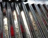 Hoja de acero acanalada galvanizada del material para techos (0.13--1.3m m) Lentejuela cero