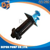 Gummi gezeichnete vertikale Hochleistungsschlamm-Pumpe