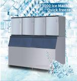Fabricante de gelo comercial da produção enorme