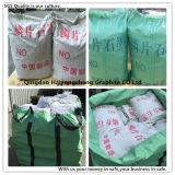 Grafita de floco da boa qualidade da fonte feita em Qingdao China
