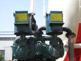 2개의 차축은 공기 압축기를 가진 대량 시멘트 유조선 트레일러를 말린다