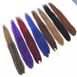 Le crochet de prolongation de cheveux de torsion de mambo de La Havane de 18 pouces tresse les perruques crépues de tresses de torsion