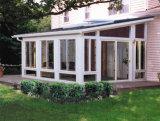 Sunrooms di vetro di alluminio