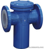 Cesta Type Strainer PFA Lined para Chemical