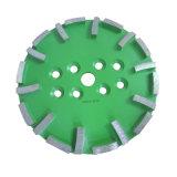 Плита диаманта конкретная меля для радиальной машины рукоятки