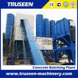 equipo de procesamiento por lotes por lotes de la construcción de una fábrica del concreto preparado 120m3/H