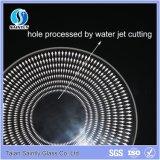 Cortina 2017 de lámpara de cristal blanca plana de Shandong 4m m
