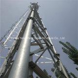 강철에 의하여 직류 전기를 통하는 관 셀룰라 전화 원거리 통신 안테나 탑
