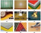 Perfil de la alta calidad FRP, reja de Pultruded FRP/reja de la fibra de vidrio
