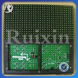 Модуль индикации СИД индикаторной панели P10 экрана дисплея СИД текста Scrolling зеленого цвета обломока пробки напольный
