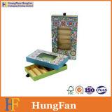 Cajón de la cartulina del embalaje del chocolate del diseño de la manera que resbala el rectángulo de papel