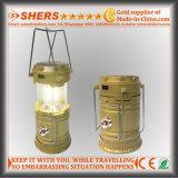 3W PFEILER LED kampierende Solarlaterne mit LED-Fackel (SH-1995B)