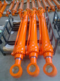Doosanの掘削機のDh55バケツシリンダー/水圧シリンダ