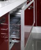 Nuova alta mobilia affrontata acrilica lucida moderna della cucina 2017 (zv-024)