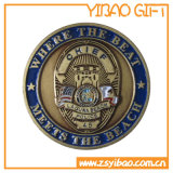 Cheap Customized Logo Double Side Matel Coin for Souvenir (YB-c-009)
