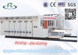 Automático de alta velocidad Agua Tinta Impresión y ranura la máquina de corte y Matrices