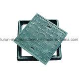 Coperchio di botola quadrato di vetro di fibra