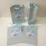 Bolso de sellado caliente Slivery del regalo del papel de feliz cumpleaños de las ventas al por mayor