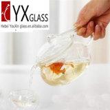 чайник теплостойкmGs цветка боросиликатного стекла 500ml зацветая с стеклянными крышкой и фильтром/стеклянным создателем чая/стеклянным чайником чая