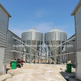 Galvanized Steel著自動Poultry Breeding Equipment Feed Silo