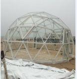 Tente ronde de dôme de tente de forme de bille d'espace libre de bâti en acier