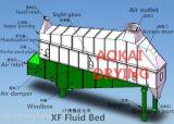 De horizontale Vloeibaar makende Drogende Apparatuur van het Bed voor Vanilline