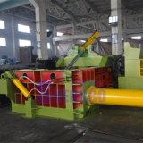 Compressor de alumínio hidráulico da prensa móvel do ferro de sucata