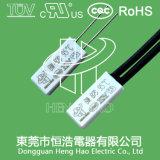 Биметаллический переключатель температуры для перезаряжаемые батареи