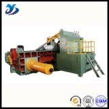 Prensa hidráulica horizontal de la chatarra de la operación de alta presión del control automático/máquina de embalaje/empaquetadora