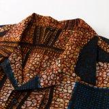 Breve camicia hawaiana del manicotto stampata abitudine casuale all'ingrosso per gli uomini