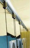 (Hanging&celling al pavimento) sistema di visualizzazione funzionale di alluminio del cavo--CF6