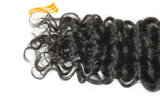 Prolonge célèbre de cheveux humains de Remy d'Indien de la marque 100% d'Alimina