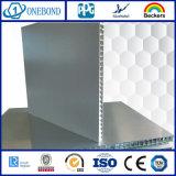 Panneau en aluminium de nid d'abeilles de couche de PVDF pour la décoration