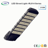 Meanwellドライバーとの高い発電LEDの街灯210W IP65