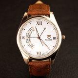 H337 het Polshorloge van de Luxe van het Horloge van de Mensen Riem van de Bedrijfs van het Leer voor Mensen