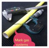 Vida de serviço longa tubulações de gás azuis de Pex do Al de 25 milímetros Buttwelded Pex