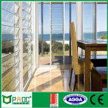 Окно жалюзиего алюминиевой вентиляции стеклянное