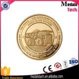 Or Phares argenté estampant la pièce de monnaie de souvenir en métal de base-ball de l'Egypte