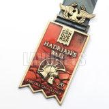 Medaglia del medaglione della spada del guerriero della lega di campionato con il vostro marchio su ordinazione