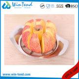 Großhandelshotel-Gaststätte-Küche-Edelstahl-Apple-Scherblock mit Plastikgriff