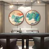 Изображение стены ландшафта холстины HD обрамленное картиной маслом для дома, гостиницы, украшения офиса