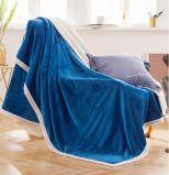 منافس من الوزن الخفيف رمز مخمل غطاء مرجان صوف غطاء