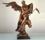 Beeldhouwwerk tpm-001 van het Brons van de Mens van het Standbeeld van de mythologie Oud