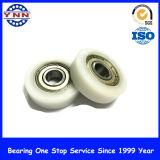 Rodamiento de ruedas plástico de la polea para las ruedas del rodillo de la polea de los muebles