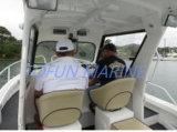 Barco de pesca de aluminio (cabina 685)