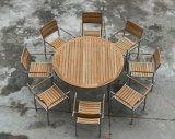 Напольный сад обедая польза Garde трактира 35 '' верхняя часть круглого стола Teak d Бирма