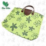 Foldable verde Shopping Bag per Promotion (12002)